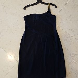 Moschino Dresses - Moschino black off shoulder dress